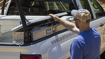 Truck Bed Side Tool Boxes