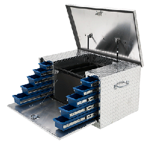 Truck Bed Tool Box With Drawers >> Drawer Truck Tool Boxes Uws Truck Accessories