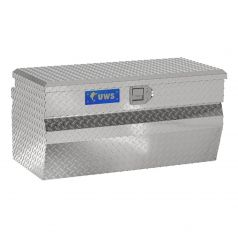 """Bright Aluminum 36"""" Wedge Utility Chest Box (LTL Shipping Only)"""