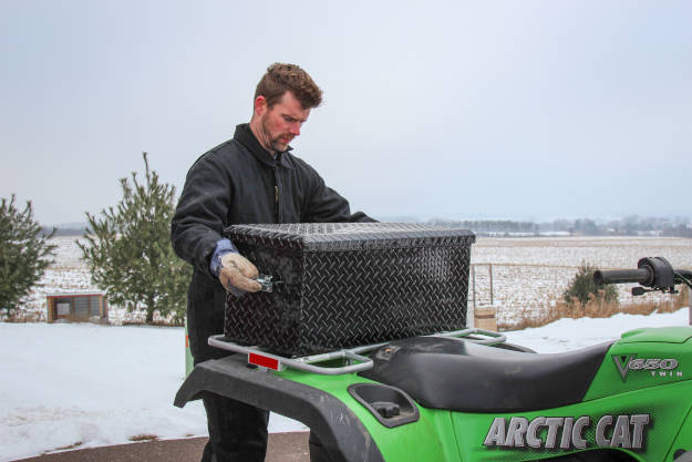 ATV Tool Box Artic Cat